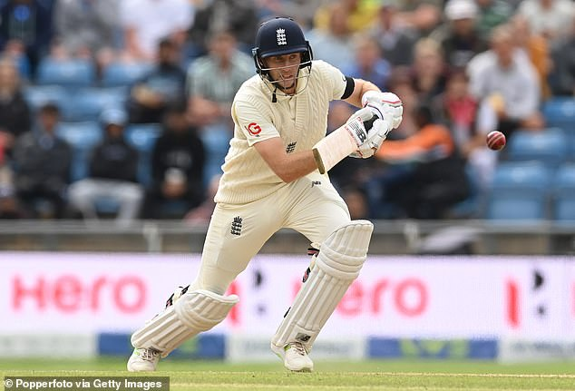 The ton was Root's (above) third century of the series and the 30-year-old's sixth in 2021 alone