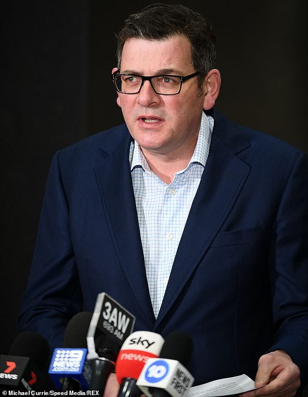 Dan Andrews is now believed to be leaning towards re-opening the playgrounds within days - despite a recent spike in Covid case numbers