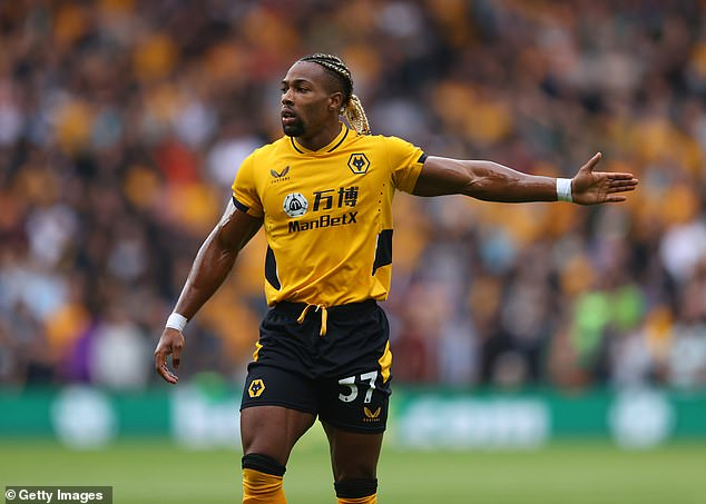 Spurs have been dealt a severe blow in their pursuit of Wolves star winger Adama Traore