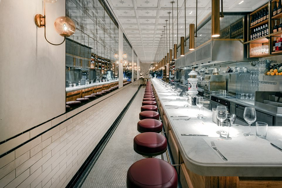 El Camino, pictured, is a superb tapas restaurant a few minutes' stroll away from Concepcio that's run by Englishman Eddie Hart, who co-founded the renowned Barrafina restaurants in London