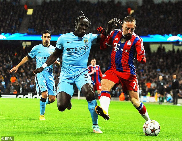 Bacary Sagna joined Manchester City in 2014 after seven seasons at Arsene Wenger's Arsenal