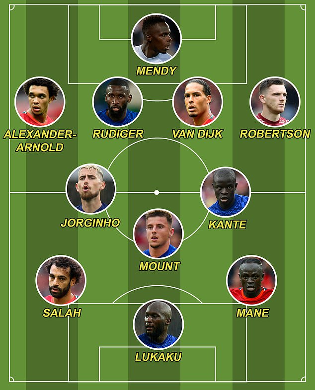 Sportsmail's combined Liverpool-Chelsea XI ahead of their blockbuster cash this weekend