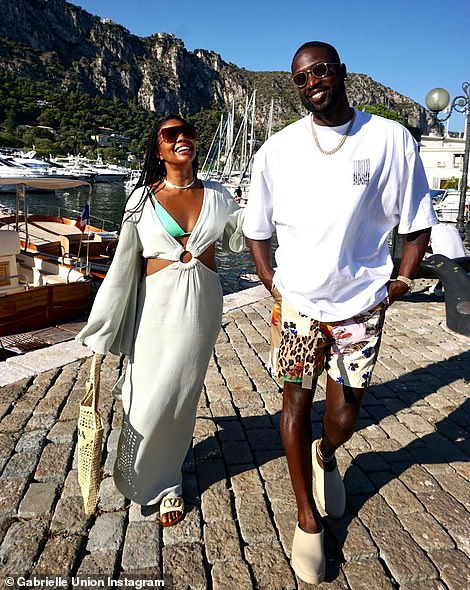 And on Thursday the stunning actress gave her 18.7 million Instagram fans and followers another update on their travels aboard a luxurious yacht