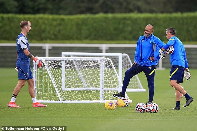 Nuno Espirito Santo informed Hart that he had no chance of playing for Tottenham under him