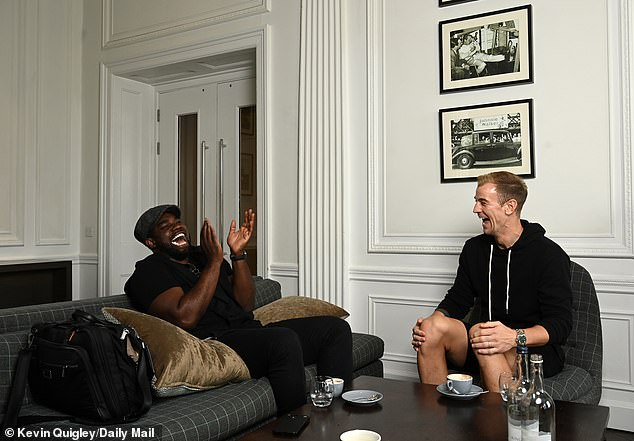 Hart spoke of the good spirit in the Celtic dressing room and is enjoying his time at the club