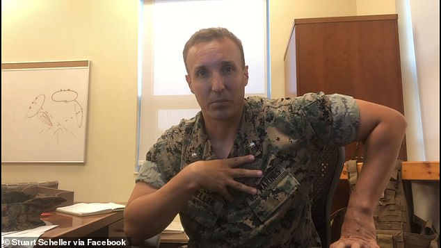 Marine Corp Lt Col Stuart Steller said in a widely shared video that military leaders need to take accountability for botched, fatal evacuation out of Afghanistan