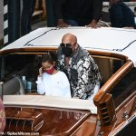 Vin Diesel is ever the stylish dad while spending time with his daughter Pauline on a boat in Venice 💥👩💥
