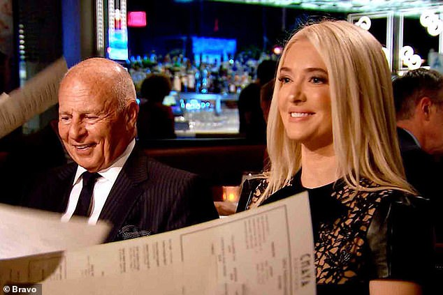 Claiming innocence: Erika has repeatedly claimed on this season of the hit Bravo show that she was 'kept away from the books' and said that their whole life existed on credit cards
