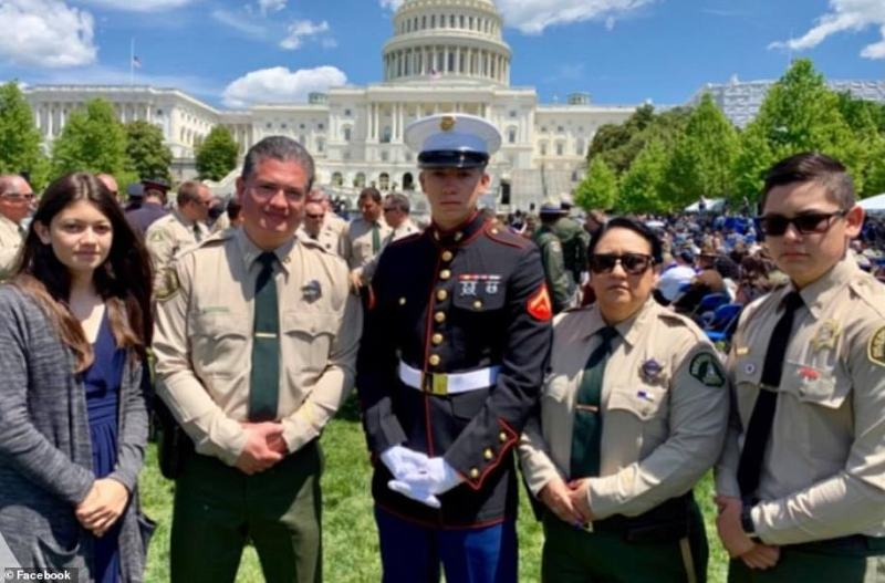 'The Lopez family exemplifies the meaning of Service Above Self,' said the local sheriff