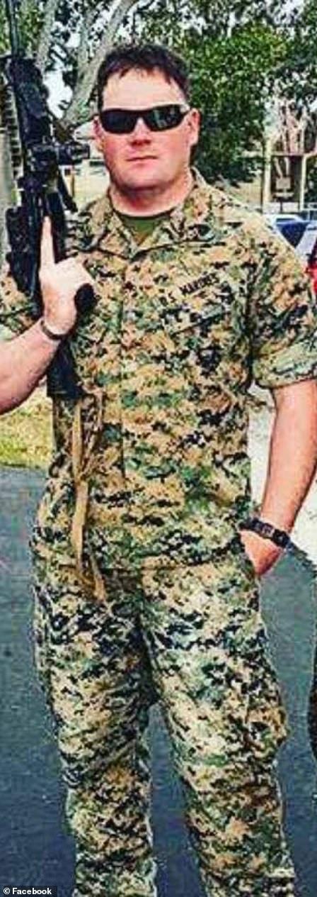 Hoover in his active duty uniform