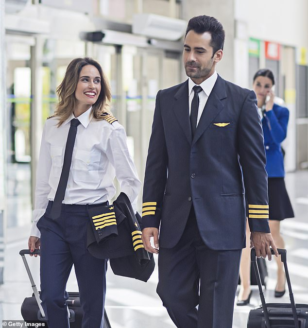 Up in the air: Pilots face salary cuts of up to a fifth as airlines axe schedules