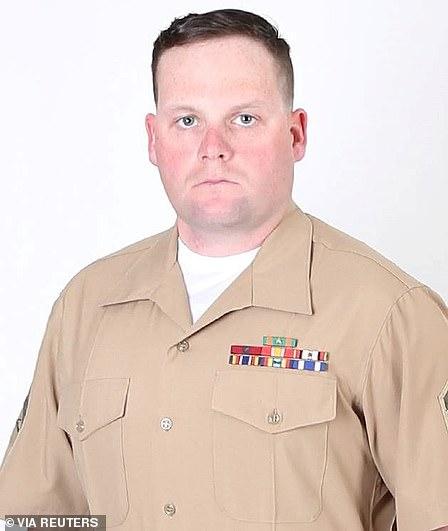 Marine Staff Sgt. Taylor Hoover, of Salt Lake City, Utah