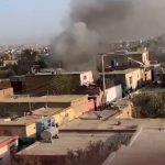 Child is killed in rocket attack: Explosion rocks neighbourhood near Kabul airport 💥👩💥