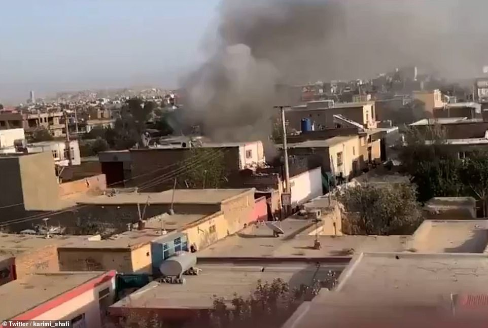 A child has been killed in a US military strike targeting suspected ISIS-K militants in Kabul on Sunday, just hours after Joe Biden warned of the possibility of another jihadist atrocity
