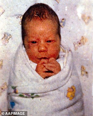 Caleb was just 19-days-old when he died in 1989