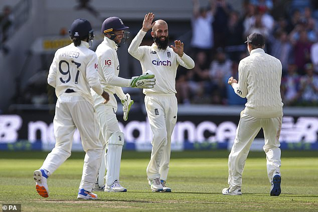 Moeen Ali is has also played his way into contention of making the trip to Australia