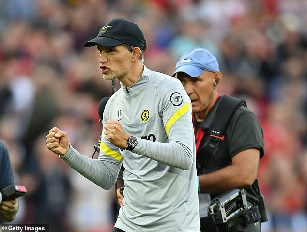 Thomas Tuchel believes Chelsea showed the makings of champions against Liverpool