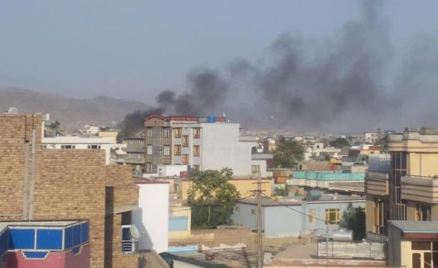 Two US officials speaking on condition of anonymity told Reuters that American forces launched a strike in the Afghan capital targeting a possible suicide car bomb that was aiming to attack Hamid Karzai International Airport