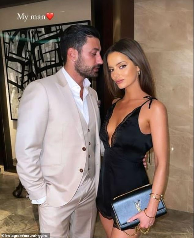 'My man': Producers are reportedly trying to avoid starting rumours as Giovanni is now in a relationship with former Love Islander, Maura Higgins, 30