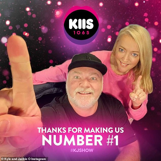 Still in power the FM!  The Kyle and Jackie O Show continues to dominate FM airwaves, beating their closest rivals, Jonesy and Amanda of WSFM, by 3.3% in latest poll