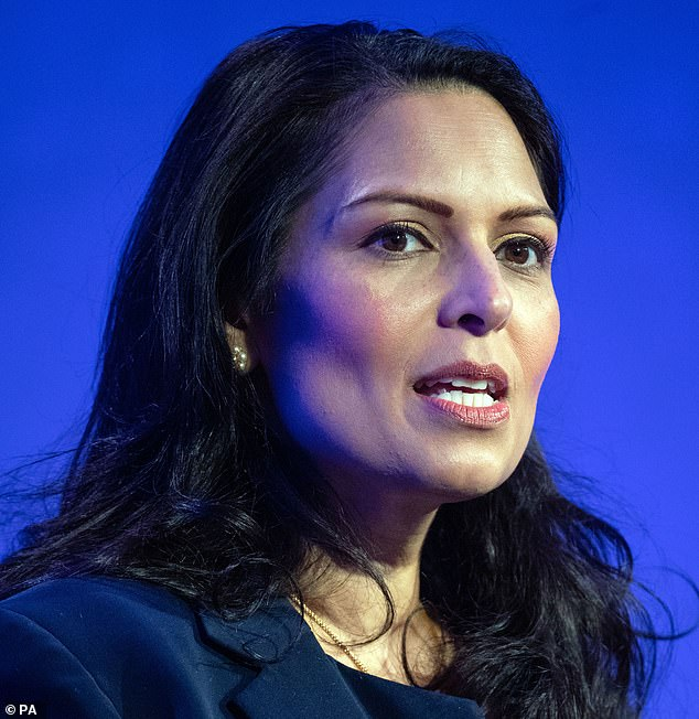 The taxpayer is footing a bill of £3.7million a day for the system, which Home Secretary Priti Patel has called 'fundamentally broken'