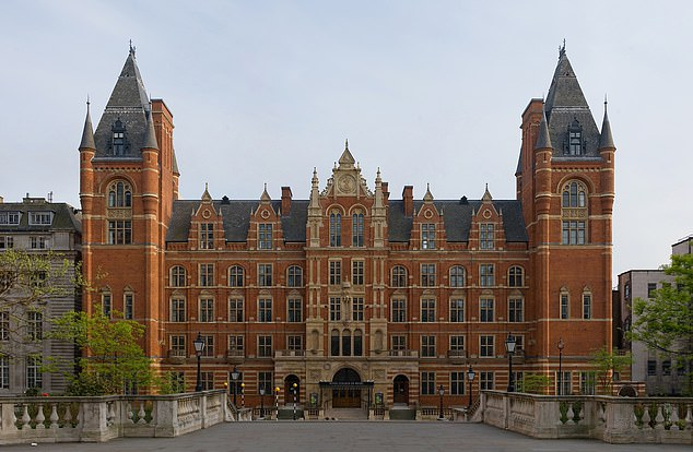 Miss Boreham is due to graduate from the Royal College of Music (pictured) in Kensington, west London, next June