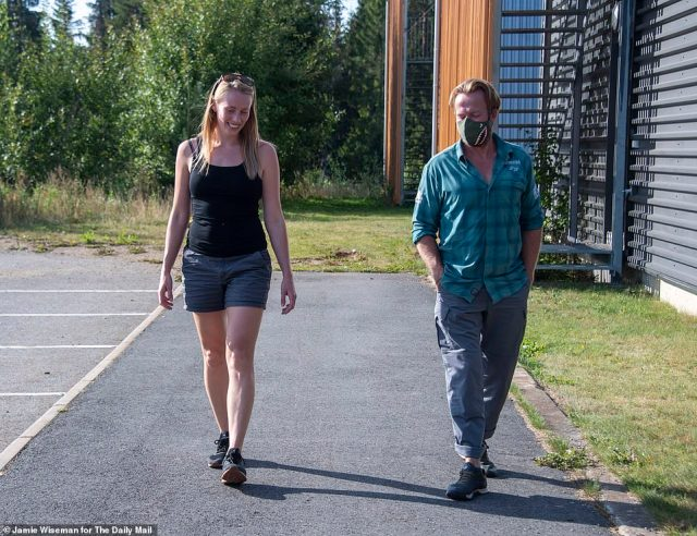 Nowzad founder Pen Farthing is reunited with his Norwegian wife Kaisa Markhus in Oslo