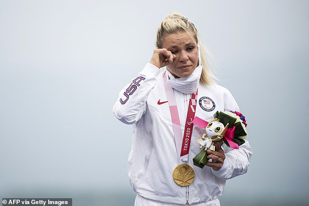 Reduced to tears on the podium, Masters can celebrate her ninth Paralympics career medal