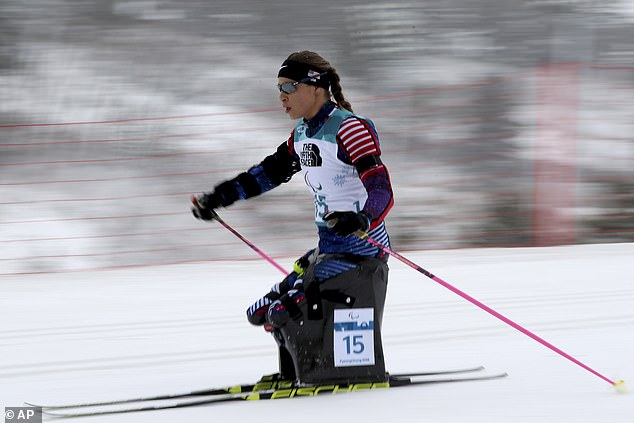 The Ukrainian-born American previously competed in Nordic skiing at the Winter Games