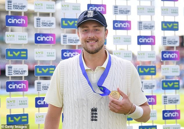 Robinson produced a sensational display in England's third Test victory over India