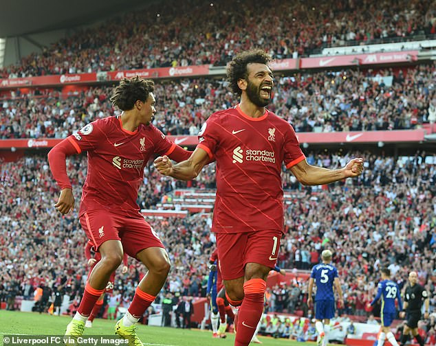 Now hailed as the Egyptian King, Mohamed Salah (right) signed for £39m from Roma in 2017