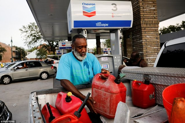 Before Ida even made landfall, there was a rush on gas stations. By the weekend, almost 10 percent of gas stations in New Orleans and Baton Rouge were reportedly running dry