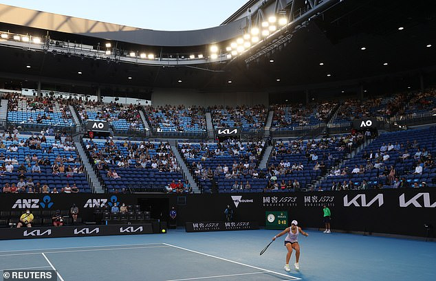 The Australian Open will take place in January rather than February as it did this year