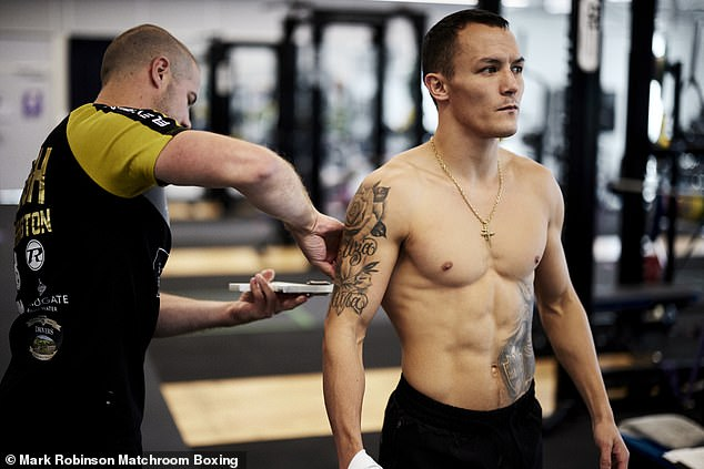 Josh Warrington has chosen to get back on the horse and is motivated to fight again