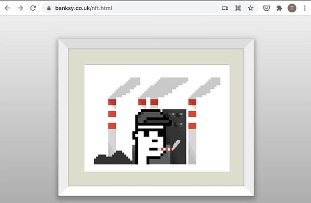 A British collector spent £244,000 on a fake Banksy NFT advertised through the artist's official website