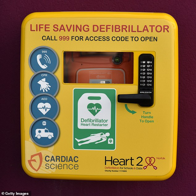 He stole thousands of pounds worth of defibrillators from North West Ambulance Service between April 21, 2017 and August 21, 2018 (file image)