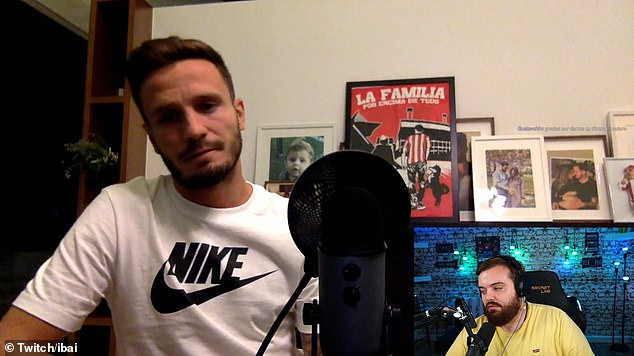 Saul went on Twitch with streamer Ibai Llanos after sealing a loan switch to Chelsea