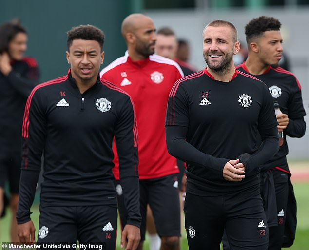 Grant (middle) says United's players are very excited at the prospect of working with Ronaldo
