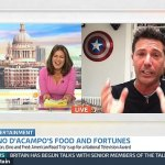 Gino D'Acampo tells Susanna Reid one of his sons has a crush on her during GMB interview💥👩💥💥👩💥