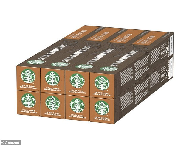 You can grab some great coffee capsule deals in the Amazon End of Summer sale including Starbucks House Blend By Nespresso Medium Roast Coffee Capsules 80 capsules for £14.19