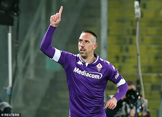 Central midfielder Franck Ribery is a free agent after leaving Fiorentina earlier this summer
