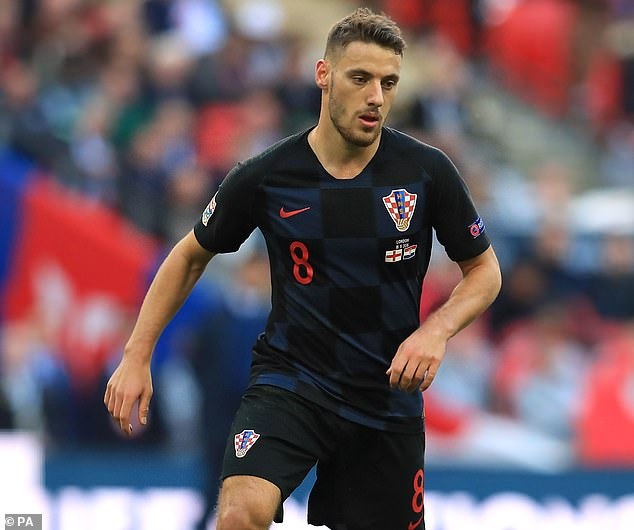 Croatian starNikola Vlasic arrived late in the window to much excitement at West Ham
