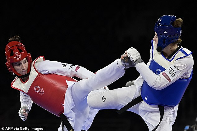 Walkden won a bronze medal at the Tokyo Olympics in the heavyweight weight class