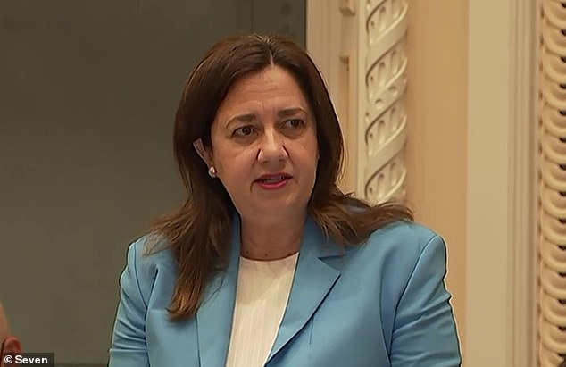 Queensland Premier Annastacia Palaszczuk told state parliament a truck driver was under investigation as one of two new Covid cases on Thursday morning