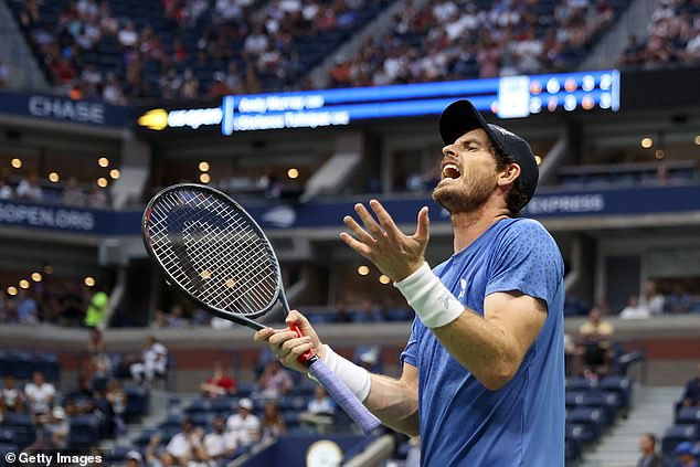 Britain's Murray could not resist aiming another remark towards Tsitsipas after his latest antics