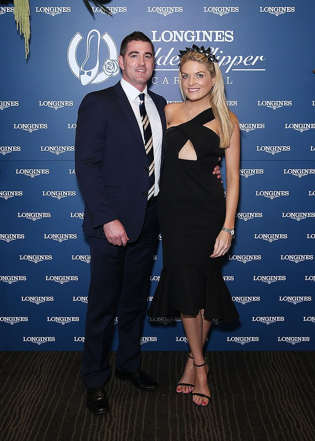 'It is incredibly difficult': Erin Molan (right) announced she's split from fiancé Sean Ogilvy (left) on Thursday