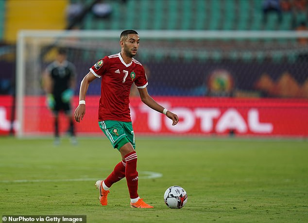 Hakim Ziyech's omission from Morocco's latest squad is down to 'unacceptable behaviour'