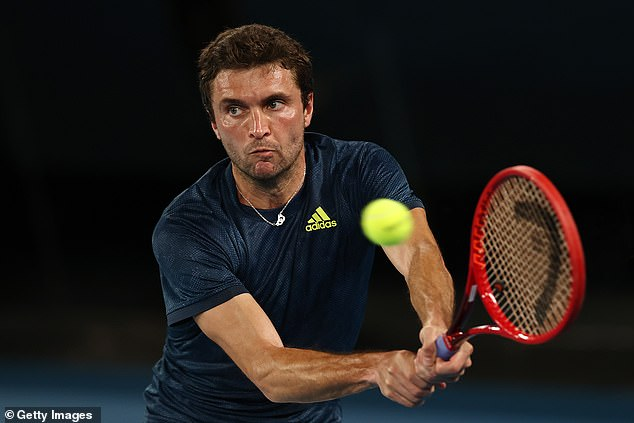 Veteran French tennis player Gilles Simon's refusal to get the vaccine forced him to withdraw from the tournament on Friday after coming in close contact with his Covid-positive coach, Etienne Laforgue