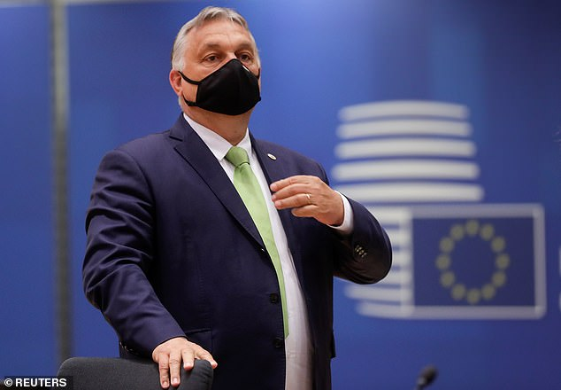 Hungarian Prime Minister Victor Orban defended fans who booed the knee and warned others not to 'provoke' them by making the anti-racism gesture