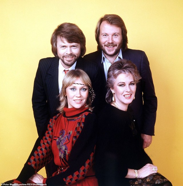 Looking forward to it! The group (Agnetha Faltskog, Benny, Bjorn and Anni-Frid Lyngstad) announced new music on Thursday afternoon as part of a 'sensational comeback'